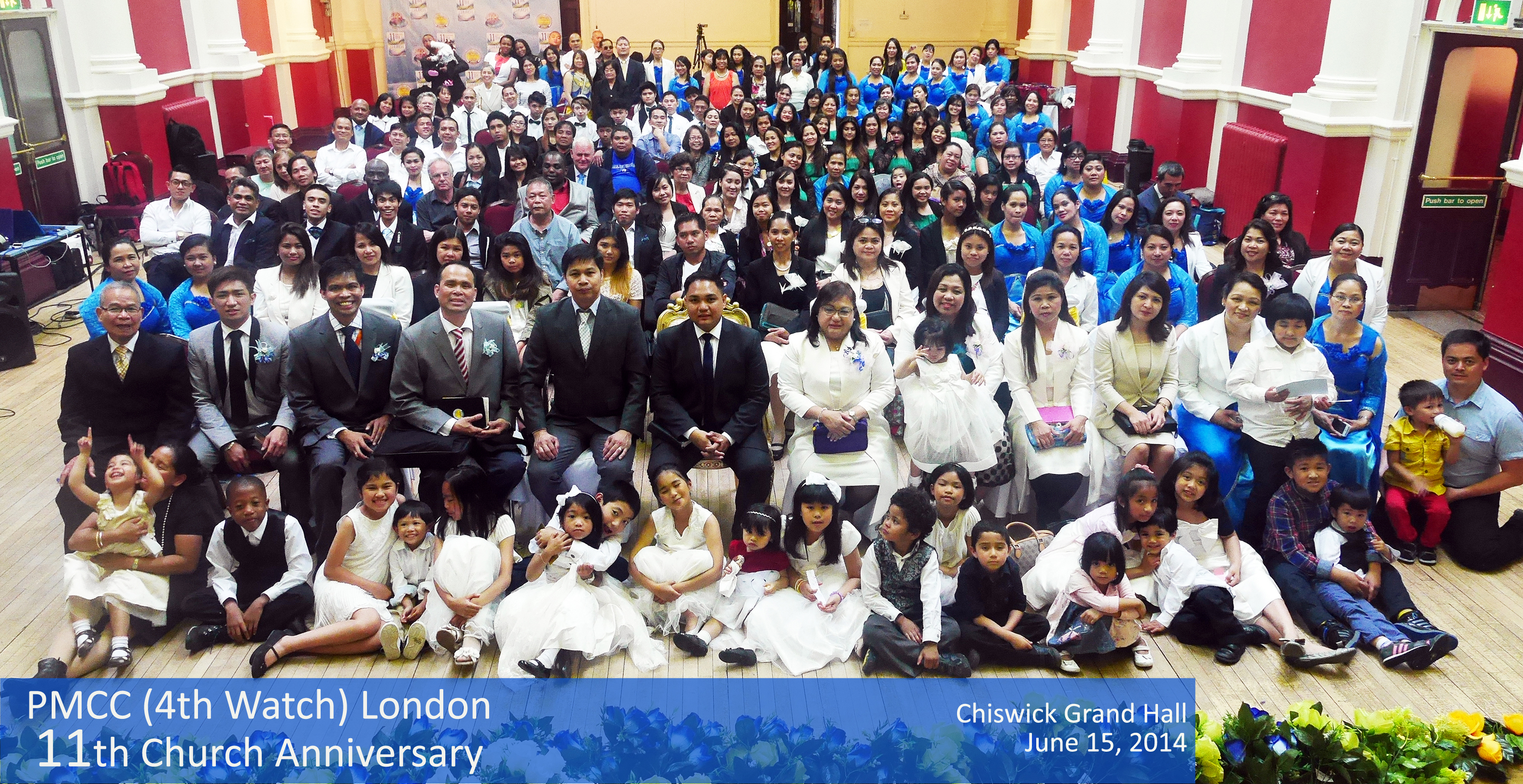 LONDON LOCALE 11th year of establishment: A celebration of God's overflowing blessings and power!